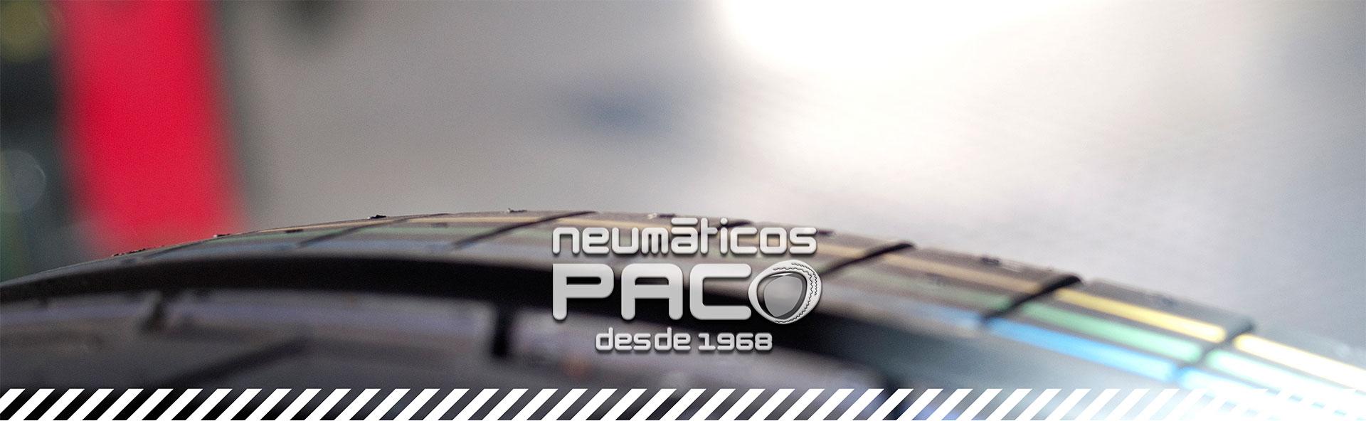 Taller de reparación Neumáticos Paco desde 1968